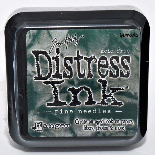Inkoustový polštářek Distress / Pine Needles