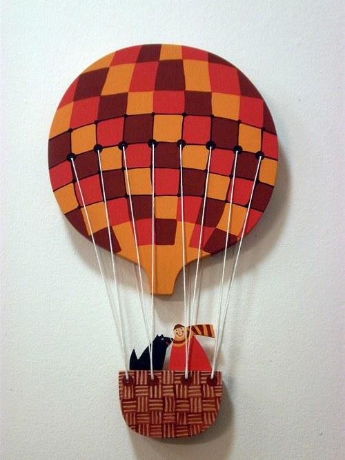 Balón malý- červený