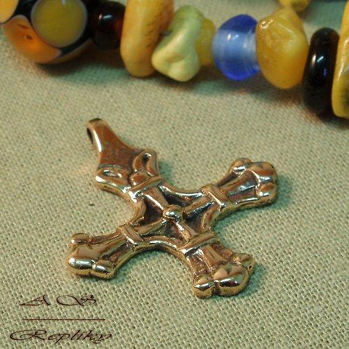 Kříž Stanga bronzový
