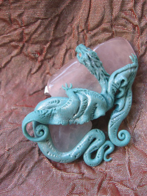 Water dragon, broz