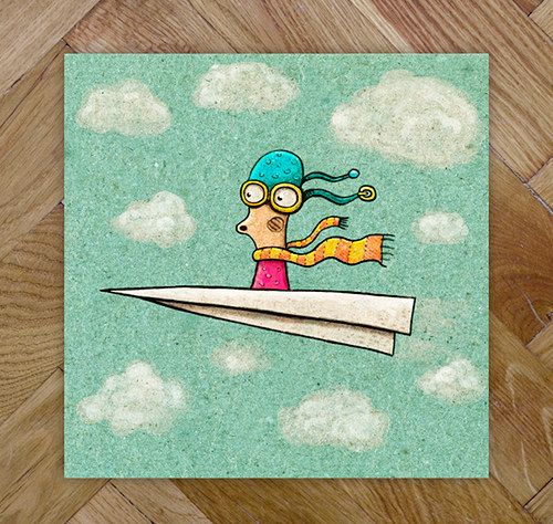 Paperplane - tisk