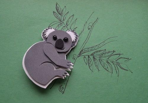 Co dělá medvídek koala?