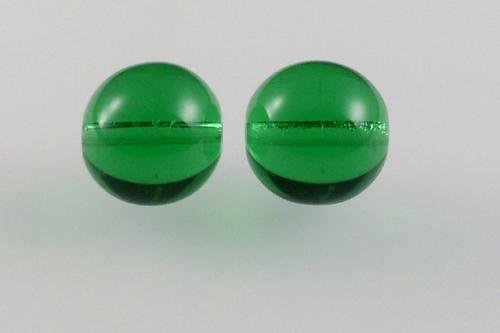 Mačkaná perla 10 mm peridot žlutý (zelená) 10ks