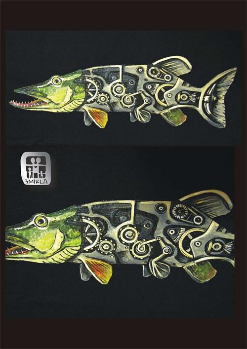 mechanická ryba