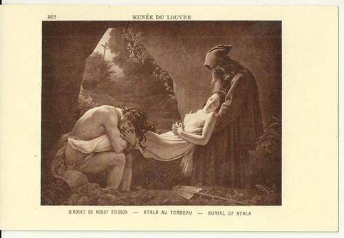 Umělecká pohlednice Trioson