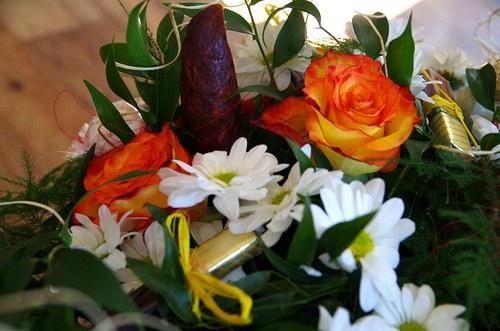 Jdeme gratulovat - dárková kytice