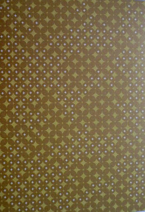 Papír A4 Gold Small Stars - kol Třpytivá Elegance