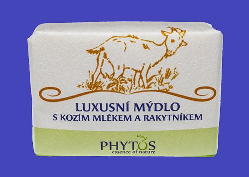 Luxusní mýdlo s kozím mlékem a rakytníkem 200