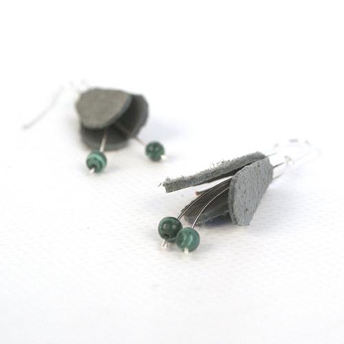 Fuchsia grey/green