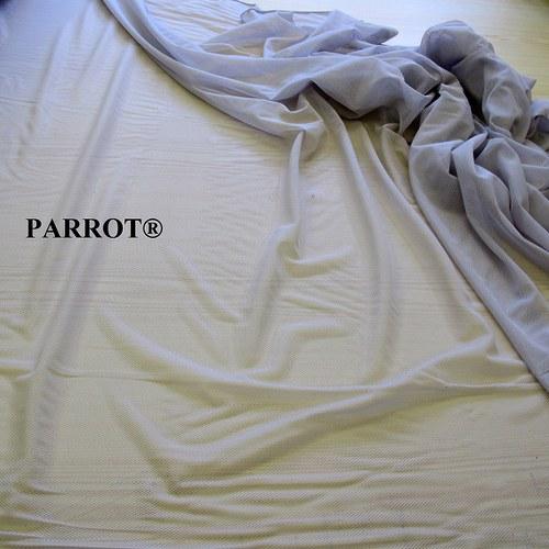 Textilní síťovina oděvní šedá -  PARROT®