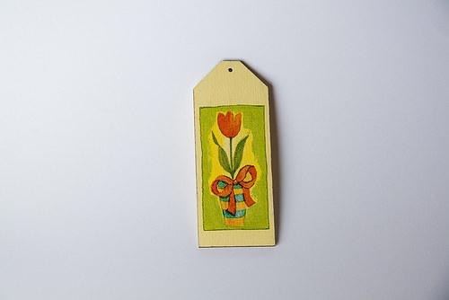 Tulipánová záložka