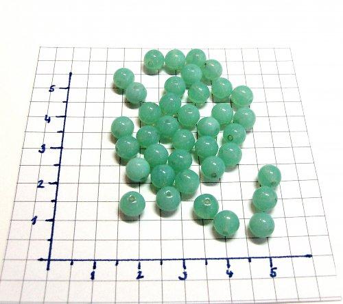 Hráškové kuličky, korálky 6mm, 20 ks