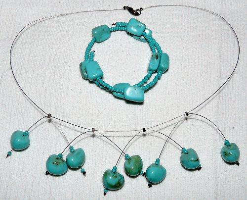 souprava - náhrdelník a náramek
