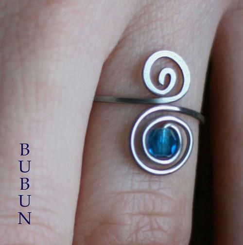 Prsten Spirálník