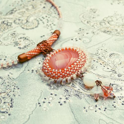 LOTOS náhrdelník s achátem