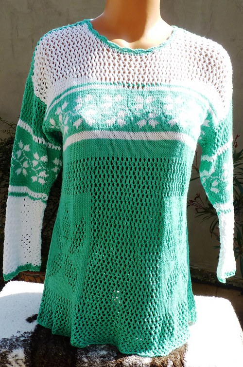 pletená tunika - výprodej a sleva