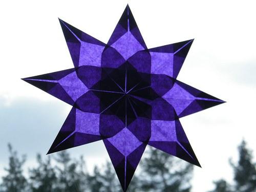Fialová hvězda