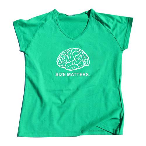 Size Matters — dámské tričko