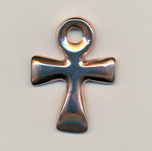 Mokume přívěsek kříž