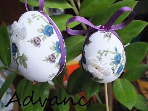 Vajce modré rúže