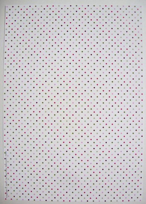 Papír A4 s puntíky