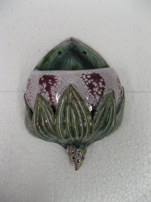 nástěnná váza na květinovou dekoraci