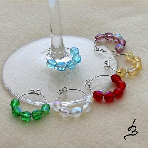 Glass charms Glanz