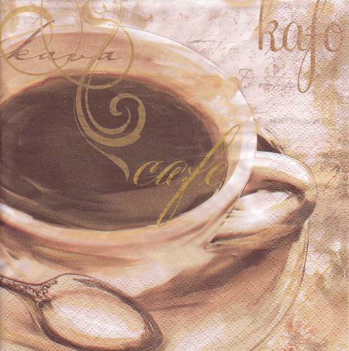 Ubrousek - káva