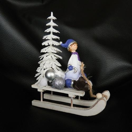 Vánoční dekorace sáňky