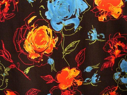 Šatovka modro-oranžové kvety