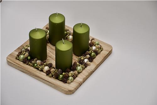 Adventní dekorace GREEN