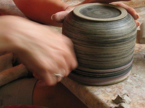 Kurz keramiky  aneb  adrenalinový zážiteček.