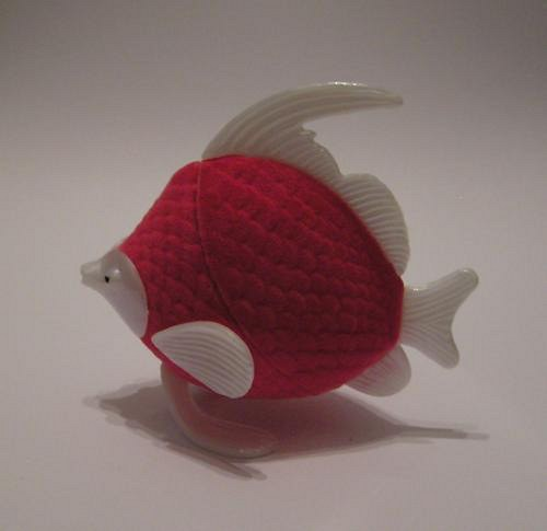 Krabička na šperky - rybička růžová