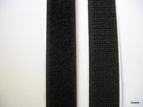 Suchý zip  samolepící - šíře 2cm