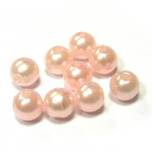 Perly - světle růžové - 50 ks