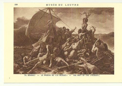 Umělecká pohlednice Th.Gericault