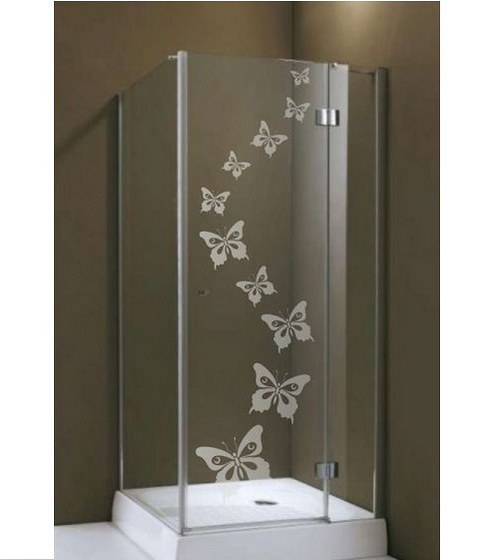 (164g) Nálepka na sprchovací kút