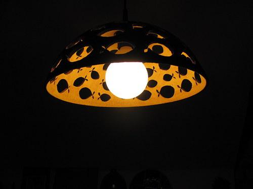 lustr keramický - RYBY