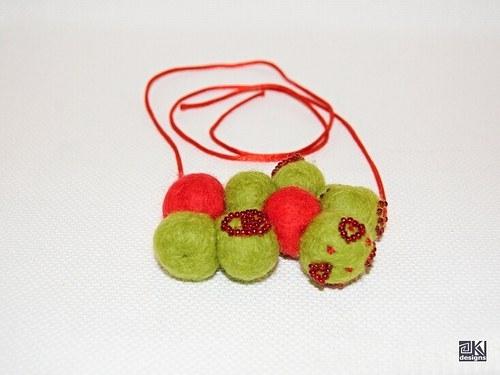 Fresh Apples - náhrdelník
