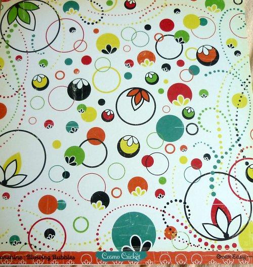 Papír Blowing Bubbles - kolekce Hello Sunshine