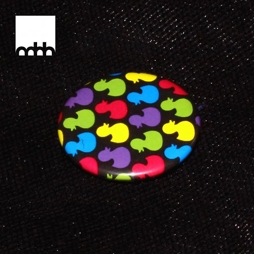 Placka s motivem kachniček - více barev