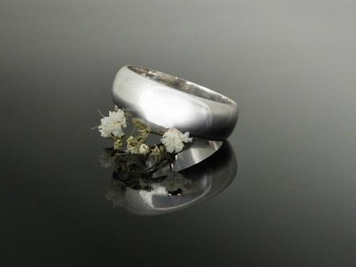 Prsten - hladký
