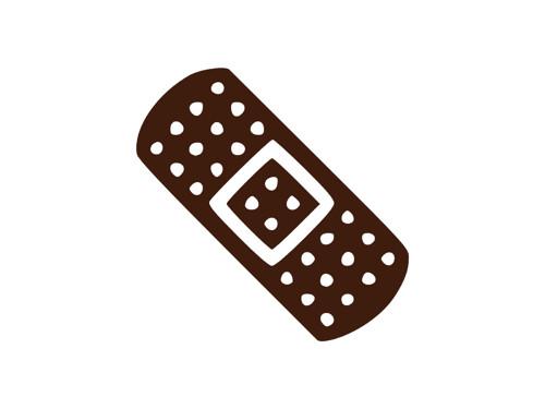 Náplast - semišová nažehlovačka