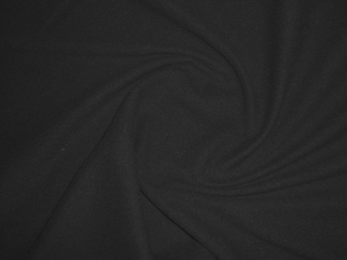 19111-B25 Fleece černý metráž á 1m