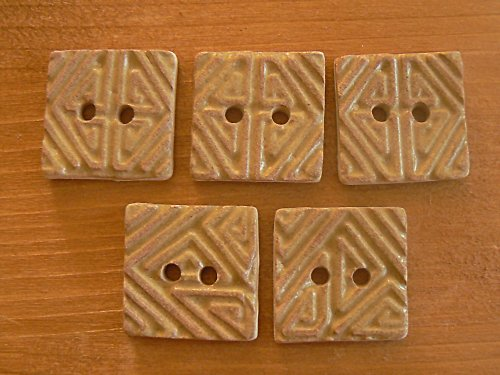 Knoflík - čtverec malý H