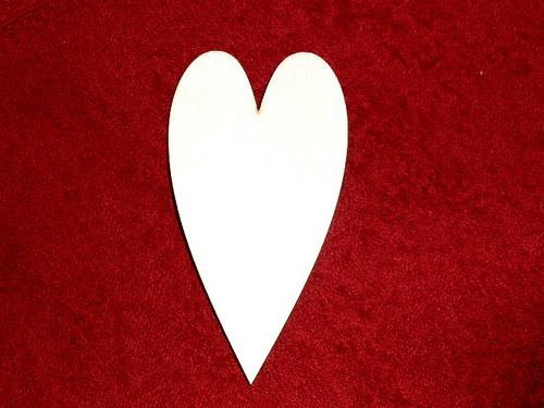 2D výřez srdce v.11x6cm