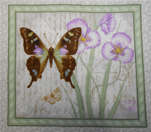 Butterfly Botanical by Janes Garden