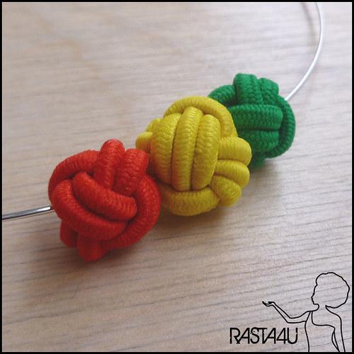 Náhrdelník - RASTA