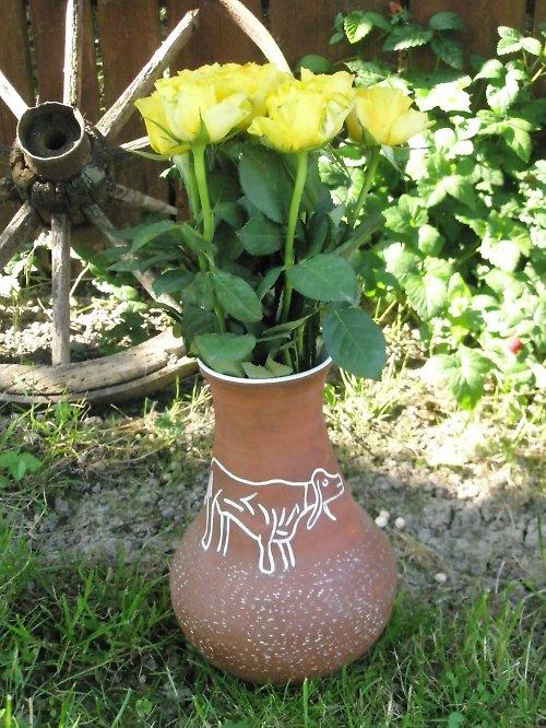 Váza-buvol