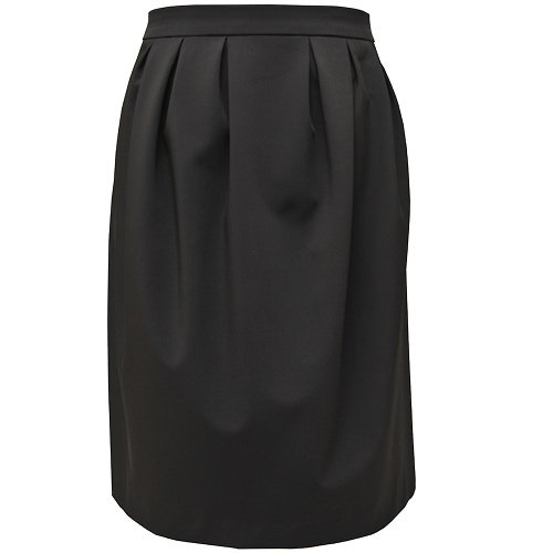 Šedá balonová sukně belaroma ke kolenům